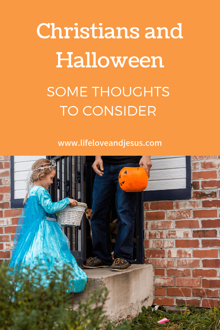 christians and halloween - life, love, and jesus