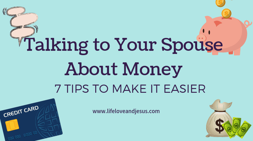 talking to your spouse about finances