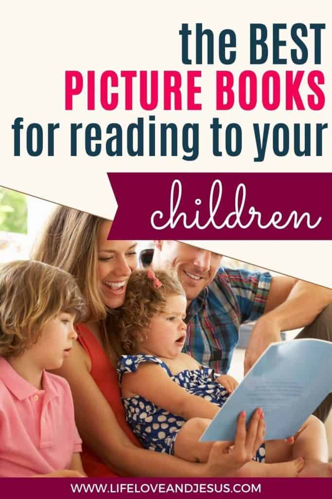 family reading with children