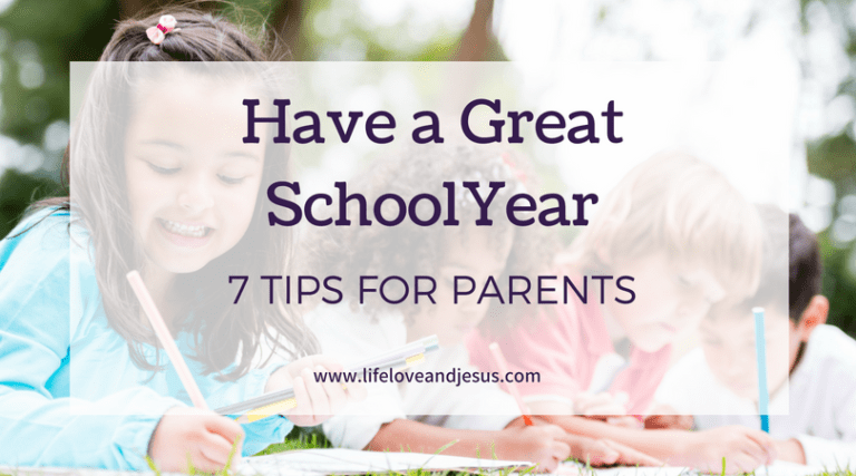 7 Tips For a Great School Year