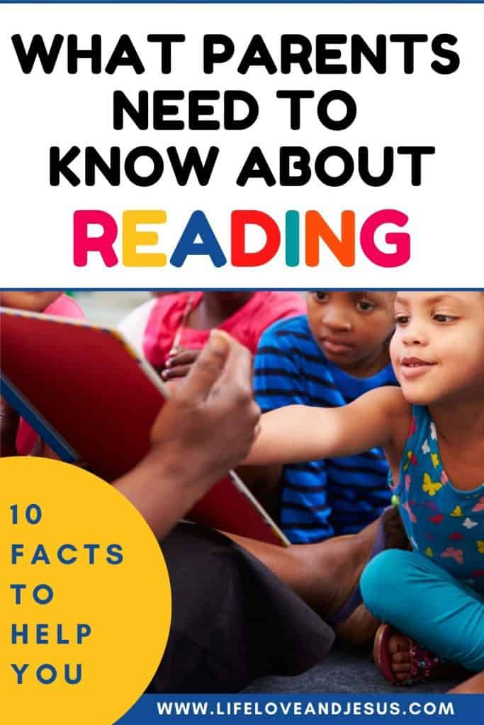 children learning to read
