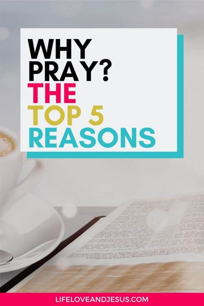 open bible why pray